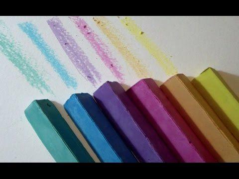 Manualidad como hacer TIZAS caseras para pintar al SUELO tutorial para Niños - YouTube