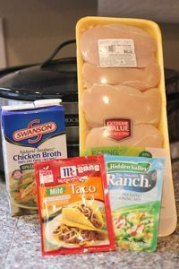 I came across Weight Watchers Ranch Chicken Tacos! So easy, so good, and so diet friendly Ingredients: – 3-4 Eating Right (97% fat …