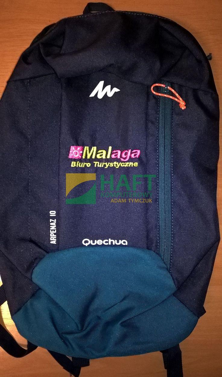 Plecak z logo firmy