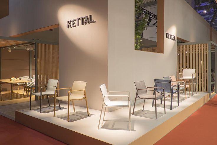 Kettal Stand Salone del Mobile - Patricia Urquiola