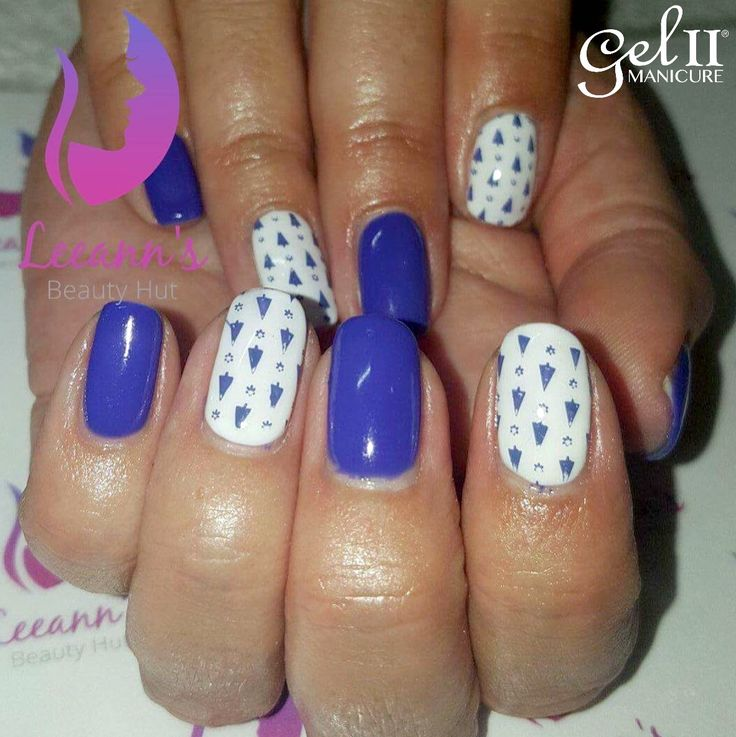 18 best Gel II® Holiday Nail art images on Pinterest | Holiday nail ...