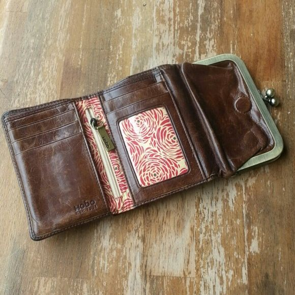 Hobo Wallet Great classic brown leather tri fold wallet by Hobo. HOBO Bags Wallets