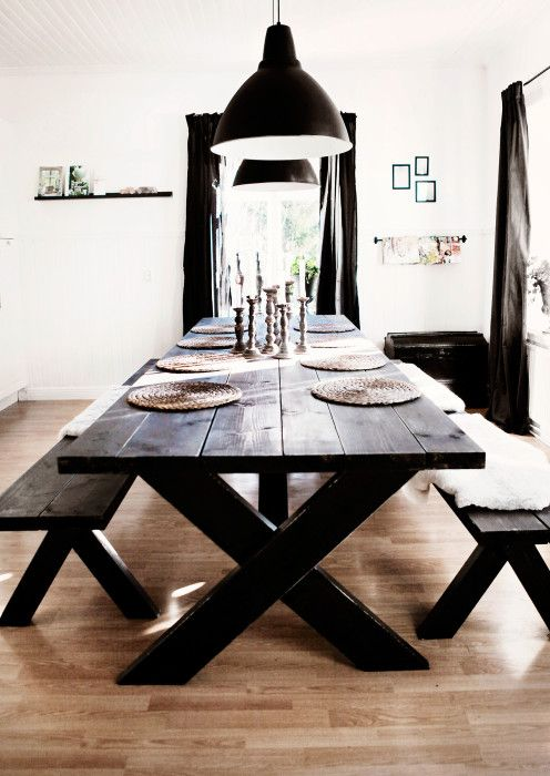 Så bygger du ett eget matbord - My home