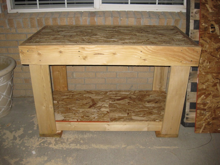 Work Bench Pallet Furniture Creations Pinterest