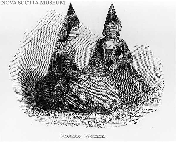 images nova scotia two mi kmaq women wearing traditional. Black Bedroom Furniture Sets. Home Design Ideas