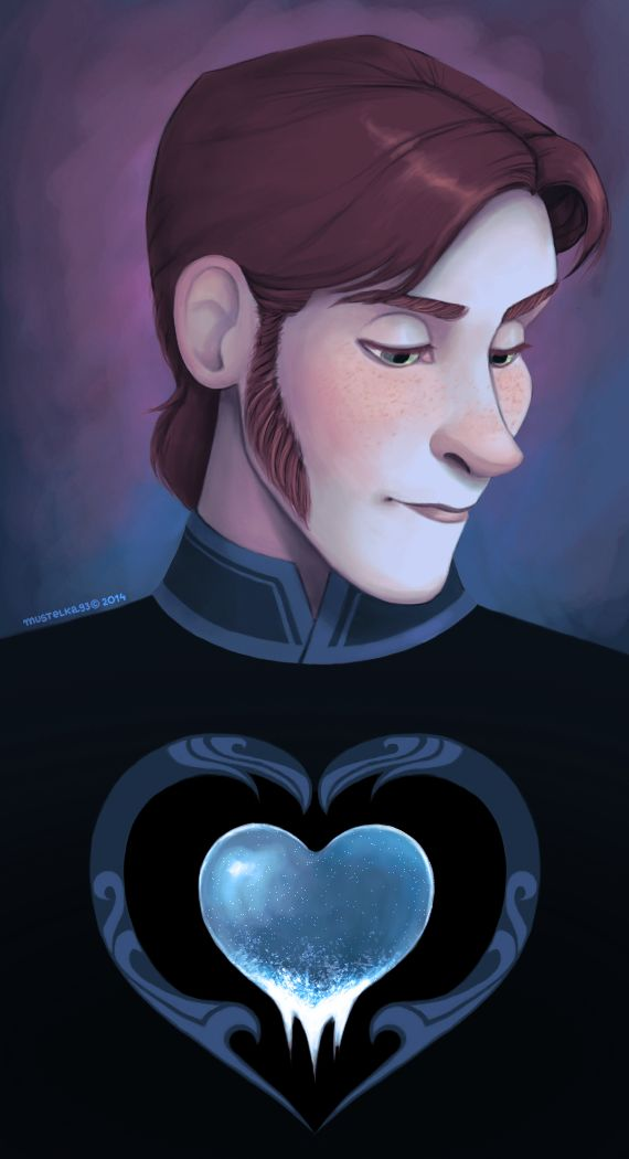 """Beware the Frozen Heart"" I need to give further thought to Hans' role in the story as a whole..."