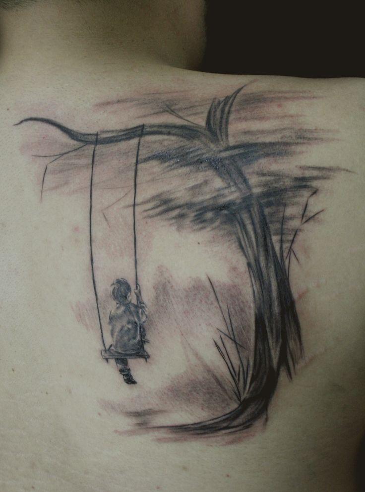 tree  tattoo  #boy #tree #tattoo #blackandgrey