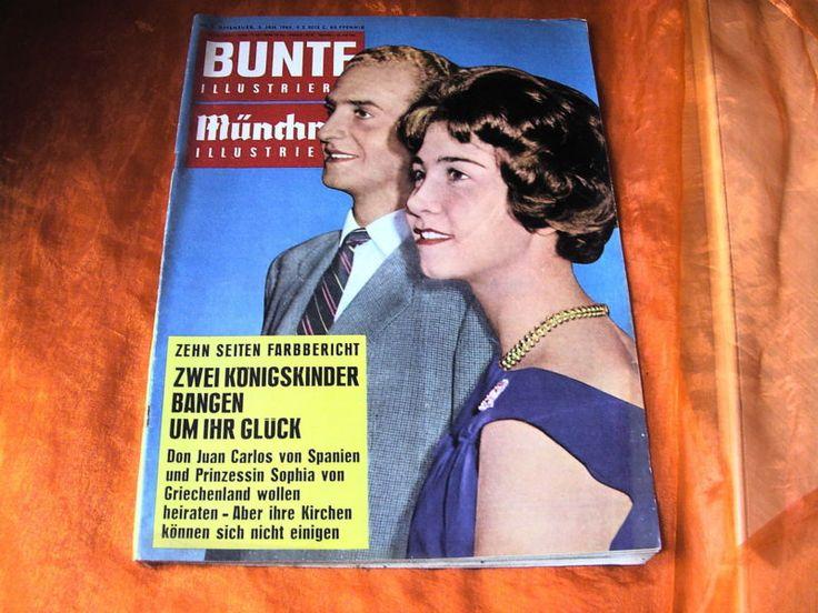 BUNTE Illustrierte Januar 1962 Heft 1 ZWEI KÖNIGSKINDER BANGEN UM IHR GLÜCK | eBay