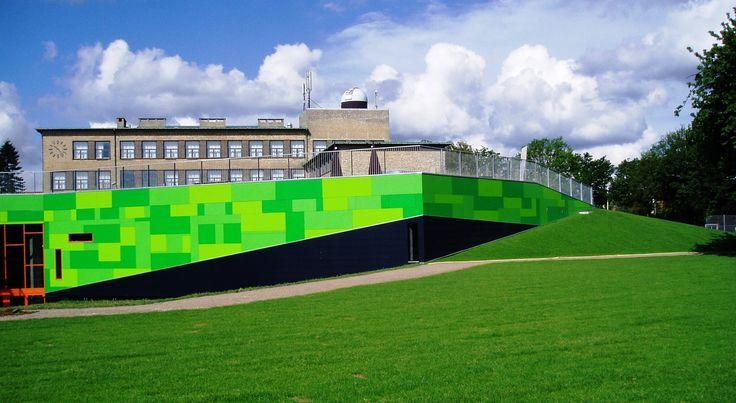 Rockpanel Colours. Bakkegårdsskolen. Arkitekt - Cebra