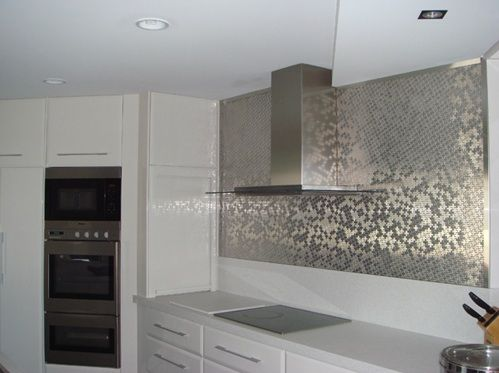 Luxury Wall Tile Kitchen Design