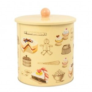 #Pojemnik, #puszka Patisserie - doskonały, aby schować #ciastka i #ciasteczka