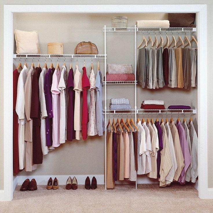 Как обустроить маленький женский гардероб: 10 советов и 30 идей