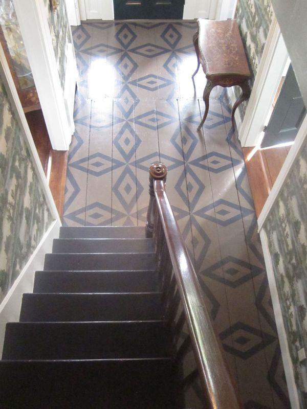 Chris Pearson painted floors ..