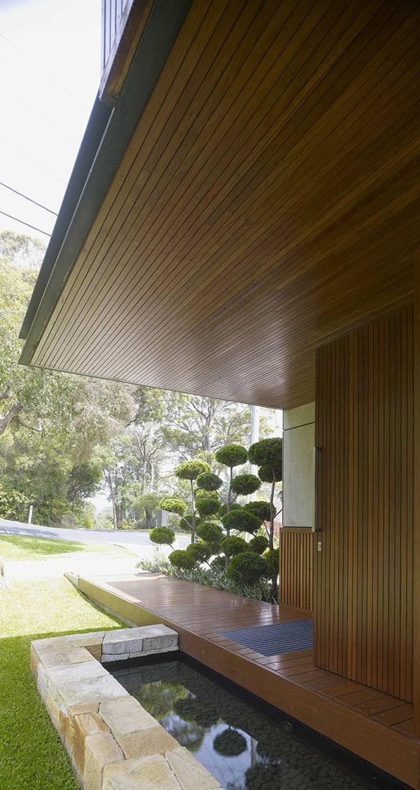 Asian inspired modern home by Virginia Kerridge