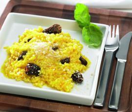 Recept Rizoto se šafránem od Vorwerk vývoj receptů - Recept z kategorie Hlavní jídla - vegetariánská
