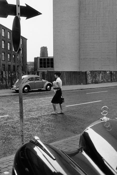 Frankfurt, West Germany :: AM Main. 1959. :: Photographer Rene Burri ::