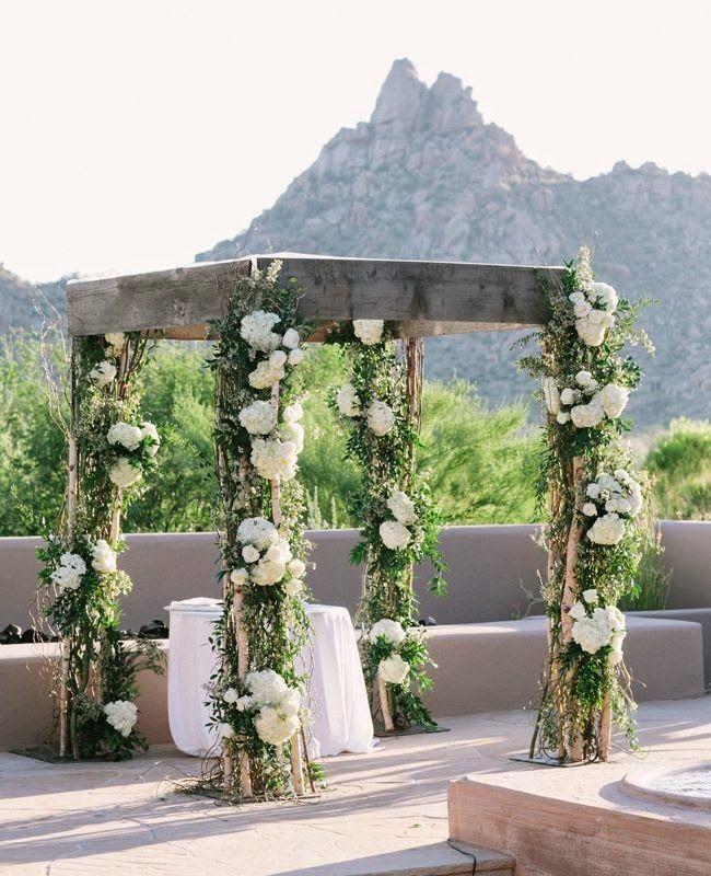 13 arcos para bodas al aire libre