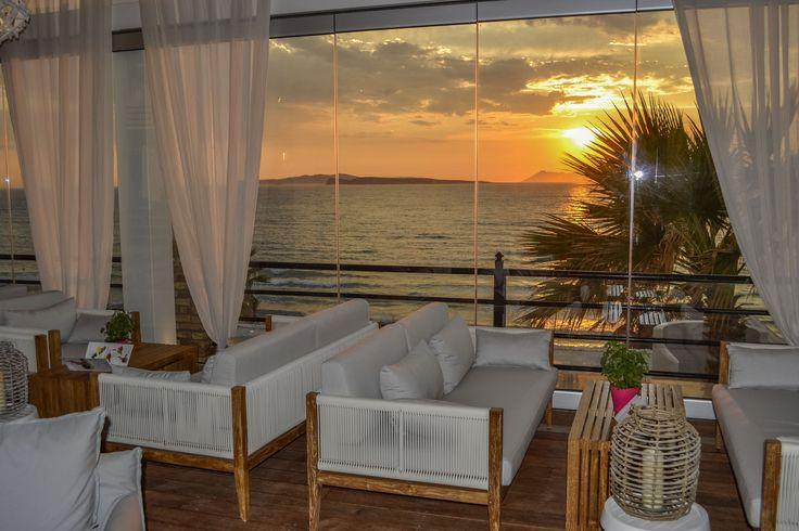 Spent your evening at #DelfinoBlu's lounge bar! #Corfu