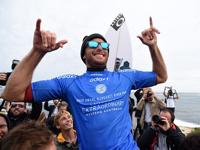 Seabass wins his first CT as an Injury Replacement -- and then delivers the best victory speech in pro surfing history