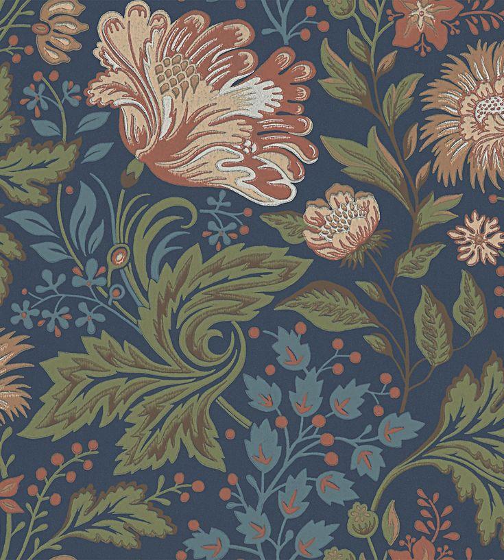 Design Classic | Vintage | Ava Wallpaper by Sandberg | TM Interiors Limited