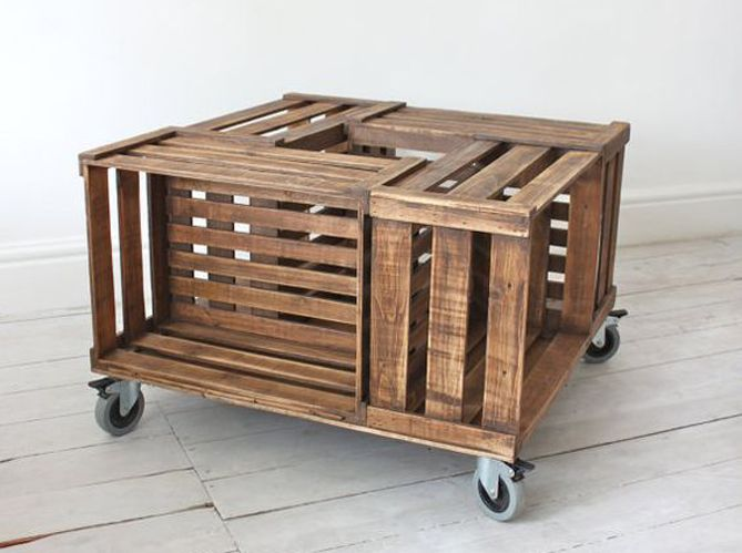 Les 25 meilleures id es de la cat gorie grande table basse sur pinterest ta - Grande table basse en bois ...