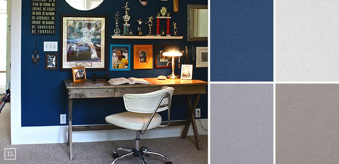 Bedroom Color Ideas Paint Schemes and Palette Mood Board Boys