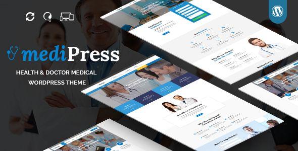 mediPress - Health and Doctor Medical WordPress Theme