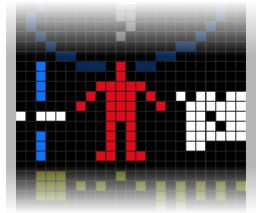 Arecibo Answer link.   Part 5 — Human form, the height and population of humans