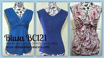 Descargar e Imprimir patrones de costura PDF de El Baúl de las Costureras - YouTube