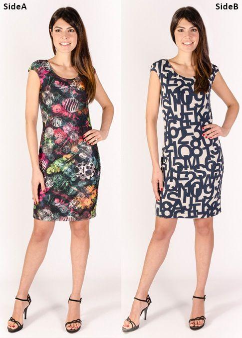 Eroke vår 17 Vendbar kjole - 2 kjoler i 1
