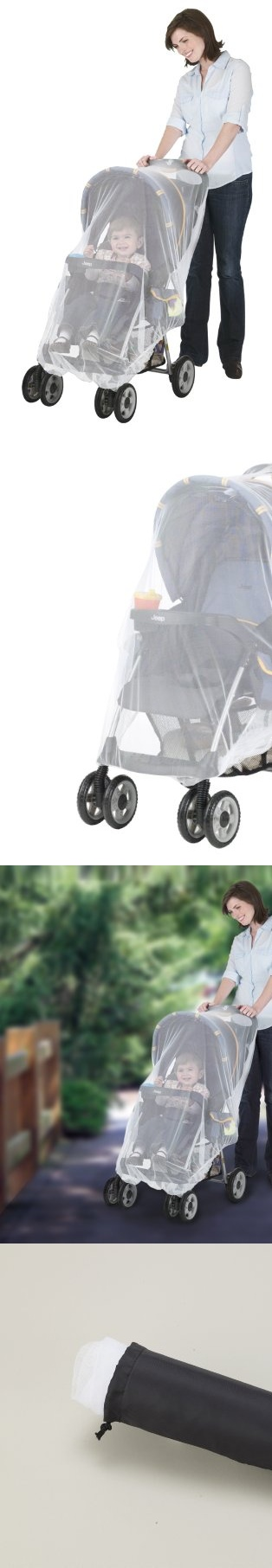 Jeep Netting for Stroller or Infant Carrier - Jeep Stroller/Carrier NettingHelps protect child from mosquitoes & other insects, fits most standard sized playpens. Fits most strollers, infant carriers, carriages & bassinets. - Insect Netting - Baby$3.95