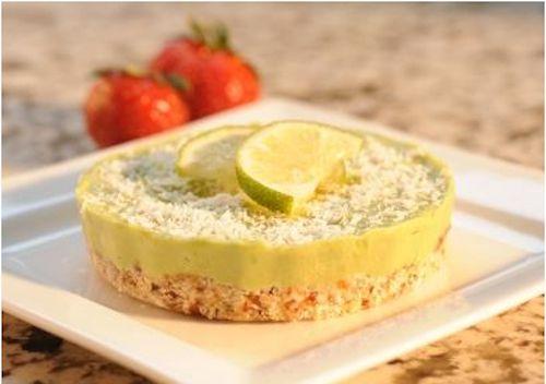 Key Lime Pie- no sugar or white flour