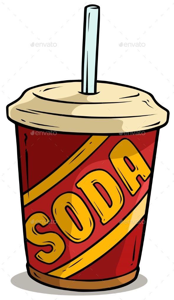 35+ Cute Animated Soda Bottle Clipart