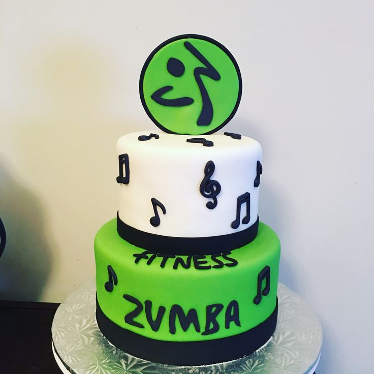 13 Best Zumba Cake Images On Pinterest Fitness Cake Fondant Cakes