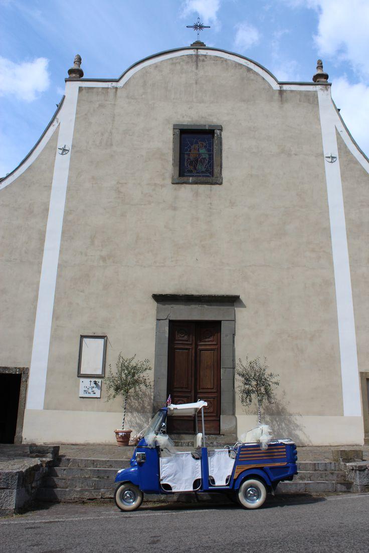 castagnoli church Castello di Meleto