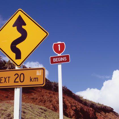 NewZealand road sign
