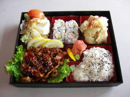 Chicken Teriyaki Bento Box - What I may be having for lunch today. :-) | Food I want to try ...