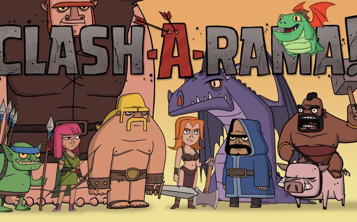 Clash-A-Rama! - Empezada el 10/12/2016