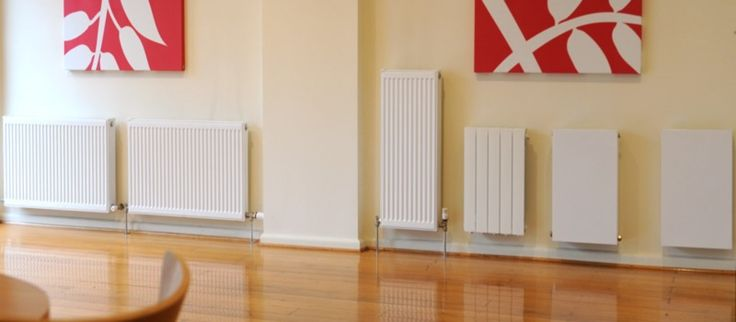how to clean hydronic heating panels