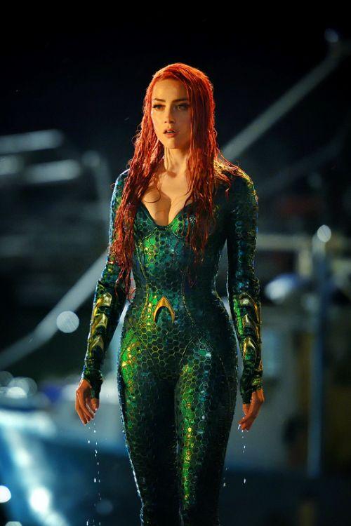 First look at Amber Heard as Mera in Aquaman (2018)
