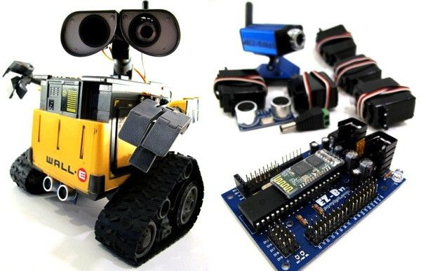 Um, I must try get this robot kit.  If for no other reason that to make a real Wall-E robot do my dance from Hello Dolly.