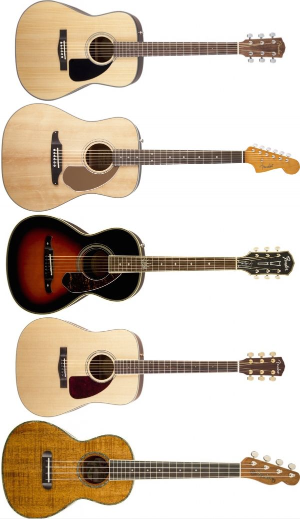 5 Great Fender Beginner Acoustic Guitars