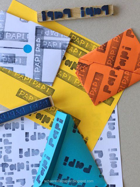 schaeresteipapier: Selber drucken und falten - Briefumschläge für Gutscheine