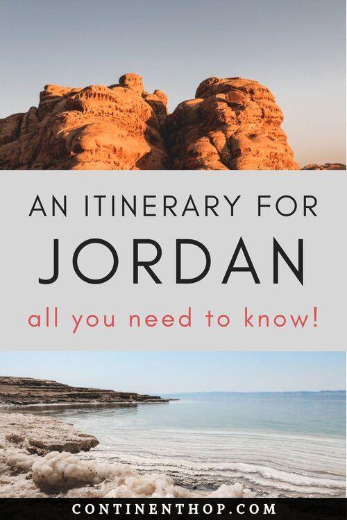 Eine 5-tägige Reiseroute für die besten Aktivitäten in #Jordanien. Informationen zu Amman, P …   – ⚑ Continent Hop ⚑