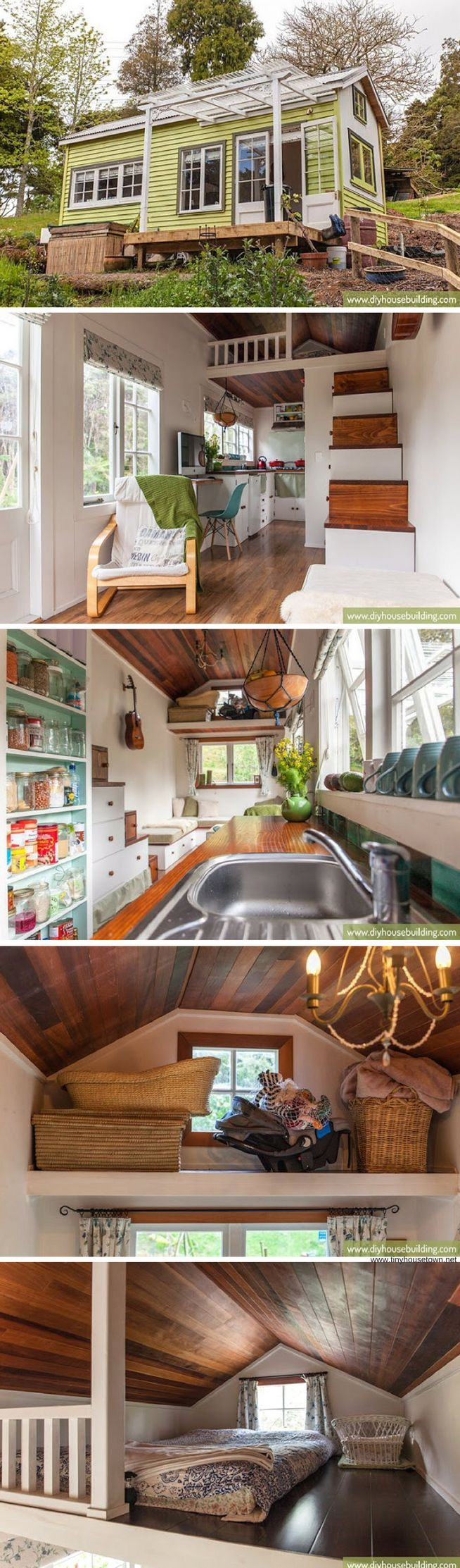 Lucy: a 186 sq ft tiny house that a family of three lives in! (Top Design Home)