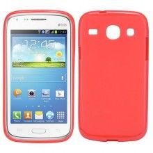 Forro Galaxy Core - Gel Roja  $ 10.683,16