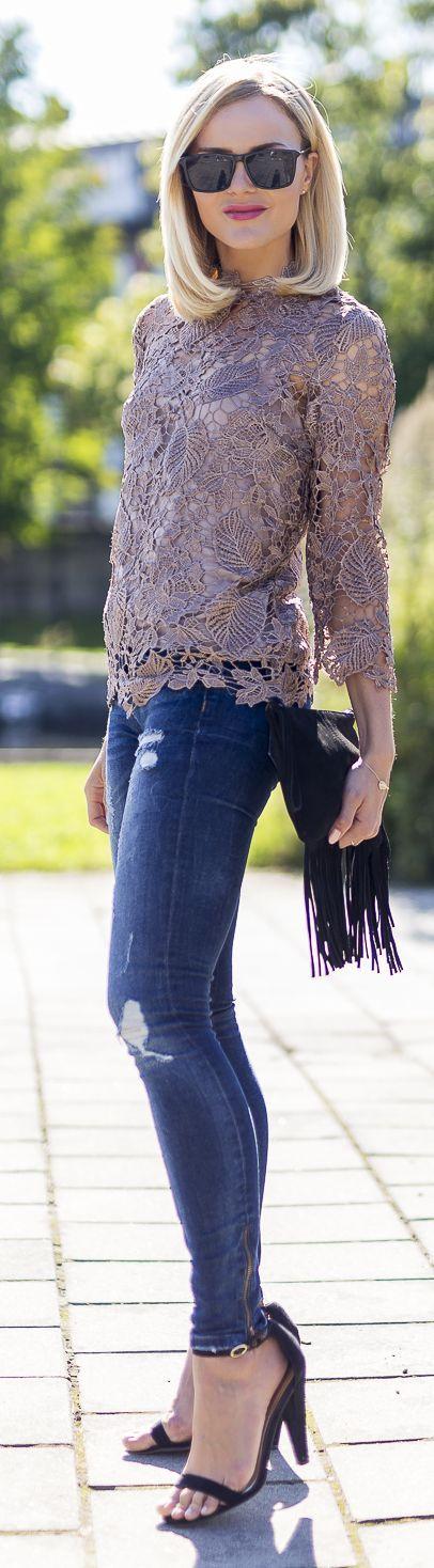 Caroline Berg Eriksen How To Dress Up Jeans
