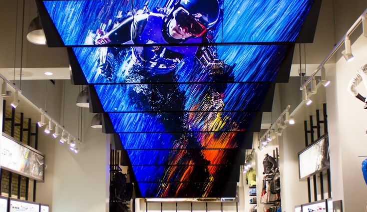 Moment Factory's Dazzling Multimedia Display for Oakley - Azure Magazine