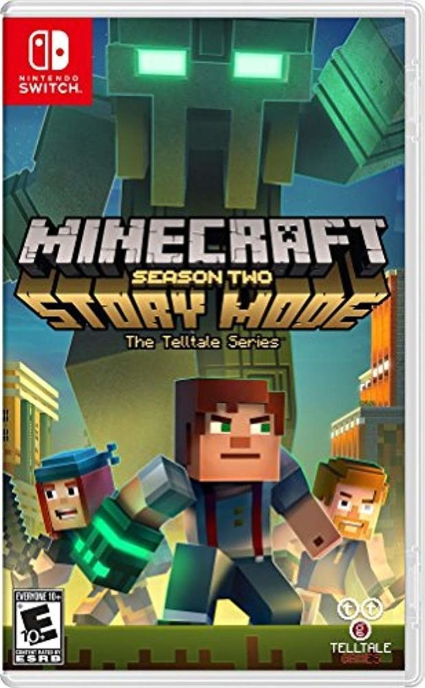 e5af69551b1d2 Minecraft Story Mode Season 2 - Nintendo Switch  minecraft  playing  game