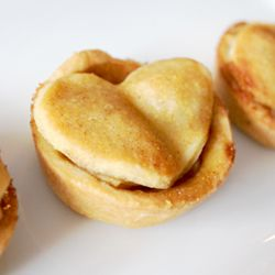 "Brandy-Apple Pie Bites...a perfect bite-sized ""I love you"" 